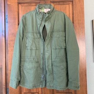 Gap utility industrial army jacket